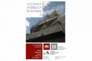 Eveniment, locuinta interbelica in Sectorul 3 - Bucuresti centenar