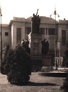 Monumentul eroilor CFR - Bucuresti centenar