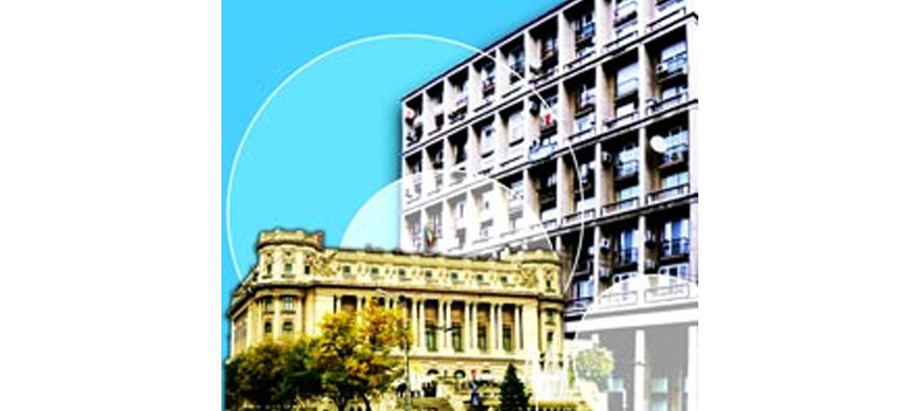 Prezentare - Intersectia Calea Victoriei - Bulevardul Elisabeta, Cercul Militar - Bucuresti Centenar
