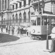 Nicolae filipescu - tramvai electric - bucuresti centenar