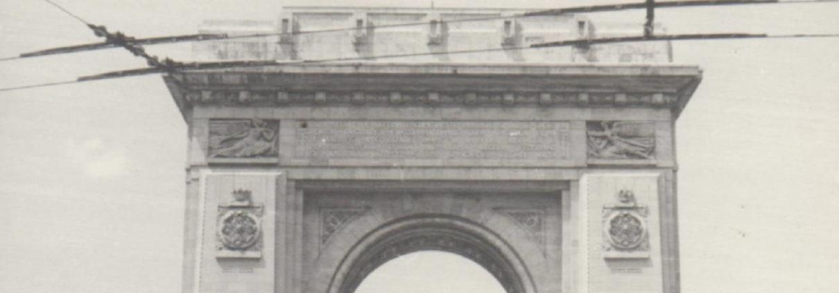 arcul de triumf - bucuresti centenar