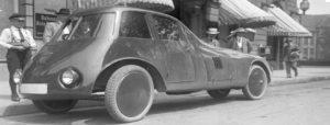aurel persu, automobil aerodinamic - bucuresti centenar