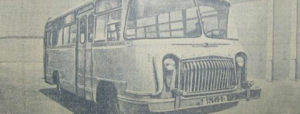 primul autobus romanesc - bucuresti centenar