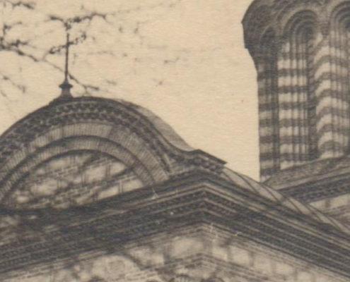 biserica curtea veche - bucuresti centenar