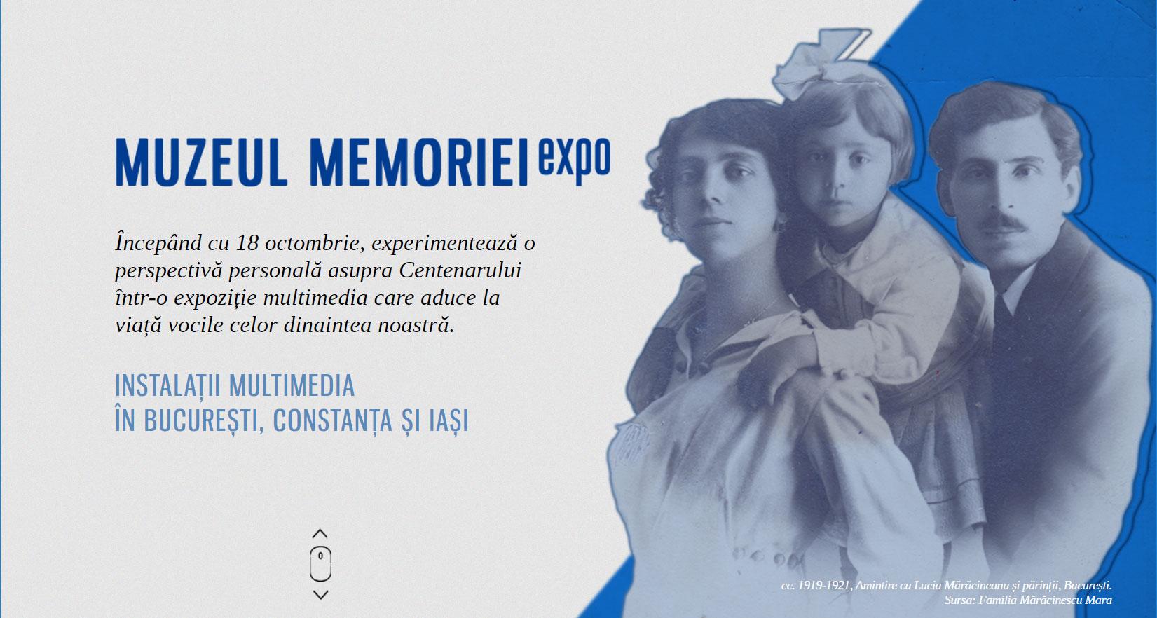 muzeul memoriei - bucuresti centenar