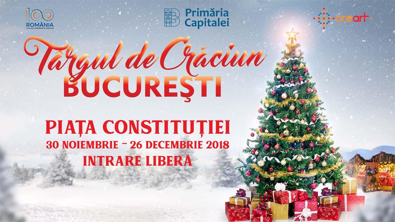targul de craciun bucuresti 2018 centenar